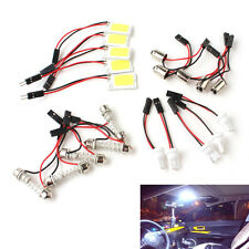 5X Car Interior Dome Light White COB 18-LED Plate  Bulb T10 Festoon 12V Lights