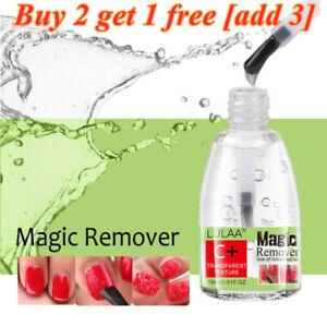 LULAA Gel Burst Magic Remover Nail Polish Cleaner UV LED Nail Gel Soak Off 15ml