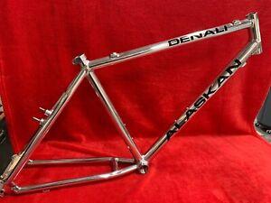 NEW Denali Alaskan Fitness/ Commuter Aluminum Bicycle Frame 4 Pounds - USA Made