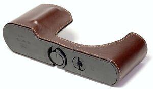 GARIZ Leather Half Case for Leica T ~ TL ~ TL2 ~ BL-LCTBR ~ NEW