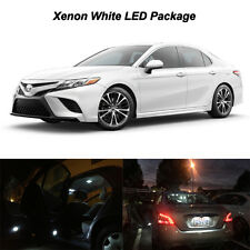 6 x 6000k White LED Bulbs For 2018 Toyota Camry Dome Step Door Trunk Lights