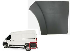 New Fits 2014-2018 Ram ProMaster Left Rear Side Panel Molding Trim Flare Driver