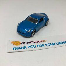 Nissan 370Z * Blue * LOOSE * Hot Wheels * F431