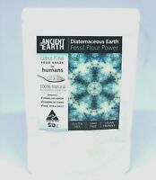50g - Diatomaceous Earth - Human Food Grade Fossil Flour - Good Gut Health
