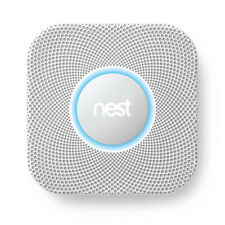 Nest Protect Smoke and Carbon Monoxide Detector Alarm WIRED 2nd Gen. S3005PWLUS