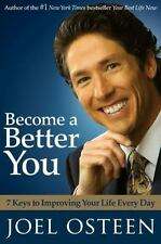 Become a Better You Book by Joel Osteen Hardcover  new