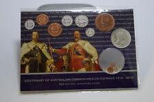 Centenary of Australian Comonwealth Coinage 1910-2010 Pre-Decimal Miniature Coin