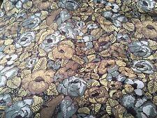 Liberty Silk Satin 100% 'Roppongi', Green (per metre) dress fabric, scarves
