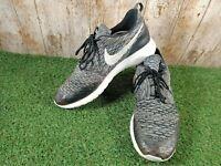 Nike Roshe One Flyknit Trainers 704927-010 Black White Cool Grey UK 8 EUR 42.5