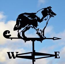 Collie Dog Metal Weathervane Roof Mount Wind Decor Scottish Collie FREE SHIPPING