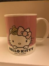 Hello Kitty Ceramic Mug Light Pink