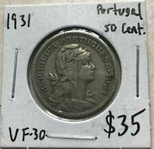 1931 Portugal 50 Centavos