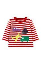 Mini Baby Ex Boden Boys Applique Tee Top Shirt Age 0-3 months