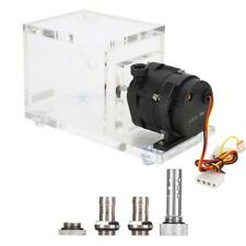 DC 12V Water Pump Tank Brushless 1200L/H For Computer PC Liquid Cooling System