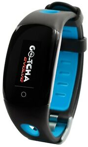 GOtcha Evolve Go-tcha BLUE LED Touch Screen Wristband Pokemon Go Plus Accessory