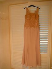 Designer Jever Dusty Pink Formal/Evening/Event Gown Size 16