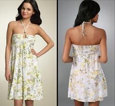 Anthropologie Free People Dress Size 8 Medium Sundress White Floral NWT $108