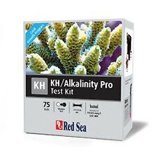 Red SEA Reef alcalinità PRO TEST KIT 75 Test Acquario Marino Acqua