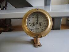 Russian marine  brass log  original