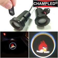 CHAMPLED ANGRY-BIRDS 2 Projector Logo Shadow Car Lights Emblem Replacement Film