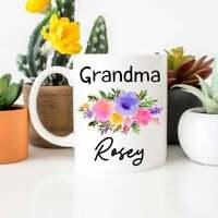 Grandma Mug Grandma Coffee Mug Gift For Grandma New Grandma Mug Personalized Mug