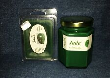**NEW** Hand Poured Exotic Scented Soy Candles Tarts & Votives - Jade