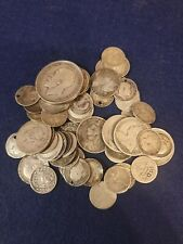 More details for pre 1920 silver coins victorian early 1900's silver coins