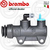 BREMBO PS11B 10477610 POMPA FRENO POSTERIORE MOTO PISTONE 11mm FISSAGGIO 40mm