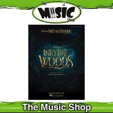 New Into the Woods Movie Vocal Selections Music Book - Piano Vocal