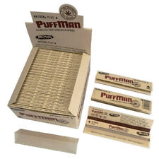 Puffman Kingsize Unbleached Rolling Papers (Box of 50 x 33 Rolling Papers)