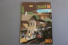 X015 FALLER ROCO Train catalogue maquette Ho 1982 84 p 29,7*20,7 F diorama decor