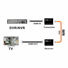 30m Wireless HDMI Sender Empfänger 1080P Splitter-Adapter für CCTV DVR NVR