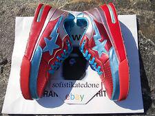 BAPE X PHARRELL ROADSTA*SUPER RARE*2006*US10.5~NEW~DEADSTOCK~RED/BLUE~0607FS-034