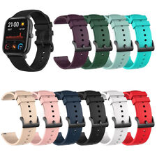 Soft Silicone Sports Watch band for Huami Amazfit GTS 2 2e mini GTR 42mm Bip