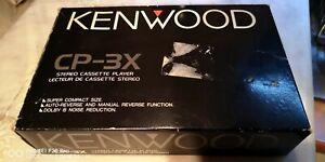 Kenwood  CP-3X  Walkman  Very Rare in Box
