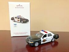 2018 Hallmark Ornament 2011 Ford Crown Victoria Police Interceptor