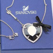 NWT Swarovski Velika Long Crystal Heart Pendant 5019061