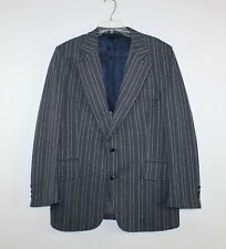 72d65949a8e Vintage 60 s 70 s Men s Mod Disco Vertical Striped Blazer Sport Coat Jacket  42 R