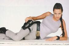 Angelina Jolie Full Length Studio Pose On Floor Busty Tomb Raider 11x17 Poster