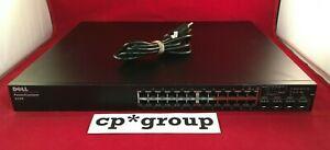 Dell PowerConnect 6224 24-Port & 4-Port DP SFP Gigabit Ethernet Network Switch