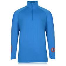 Abbiglimento sportivo da uomo blu manica lunga con tasche