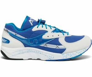 """Saucony Aya """"Limited Edition"""" Sneakers (S70460-2) White/Blue/Light Blue"""