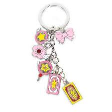 New Anime Cardcaptor Sakura Keychains KEY CHAIN Keyring Collection Cosplay Gifts