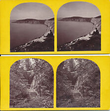 Sepia 1870s Collectable Antique Stereoviews (Pre-1940)