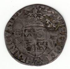 Henri III,1570's Z billon douzain with 1640 lis c/m for 15 deniers, Vlack 1i R6