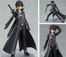 SAO Sword Art Online Kirigaya Kazuto Kirito 15cm/6'' Figure Figurine Boxed Figma