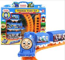 Thomas Electric Trains 3 Cars Kids Train Track Pack Set Railway Track Slot Toys