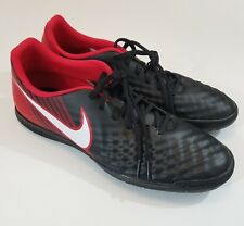 differently e4aa9 c229e Nuevo Nike Para hombres magistax ola II fútbol Indoor Talla Zapato 12-Rojo  Negro