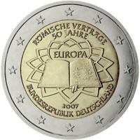 Germania 2007 Tdr Monnaie: F Traité De Roma