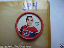 SHIRRIFF METAL COIN 1962-63  NO 25 JACQUES PLANTE MONTREAL CANADADIEN  JP4